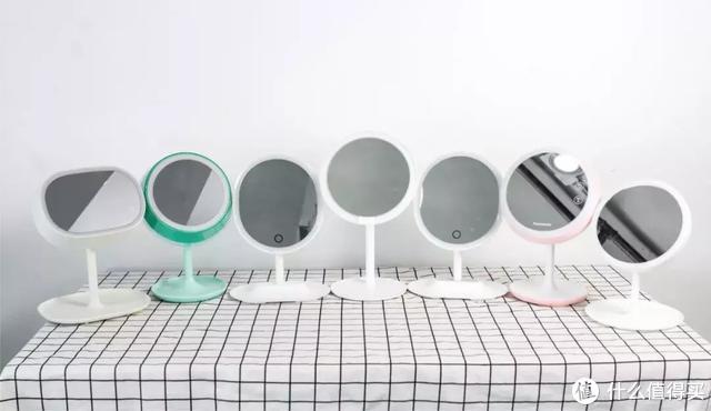实测7面LED网红化妆镜:揭秘99%女生化不好妆的原因!