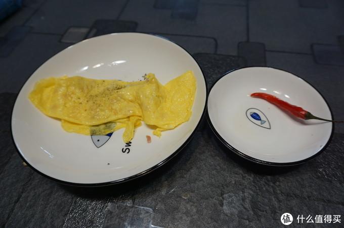 第二张饼+装饰的辣椒