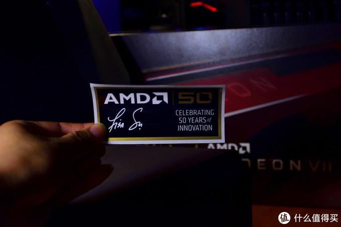 苏妈签名贴纸(英文),CPU的贴纸是中文