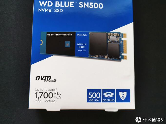 西部数据 WD 蓝盘 SN500 500G使用体验