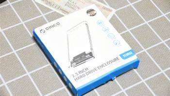 奥睿科 2.5英寸 透明移动硬盘盒使用总结(接口|传输|读取|写入|外壳)