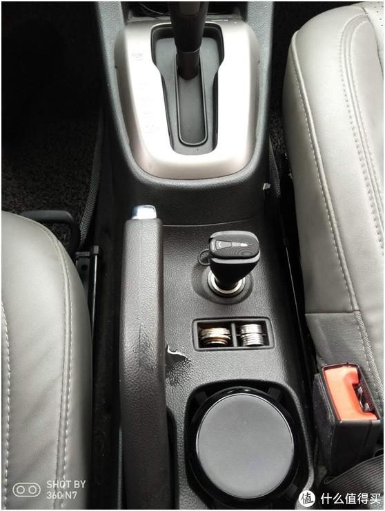 飞利浦车载无线蓝牙耳机SHB1801p安装