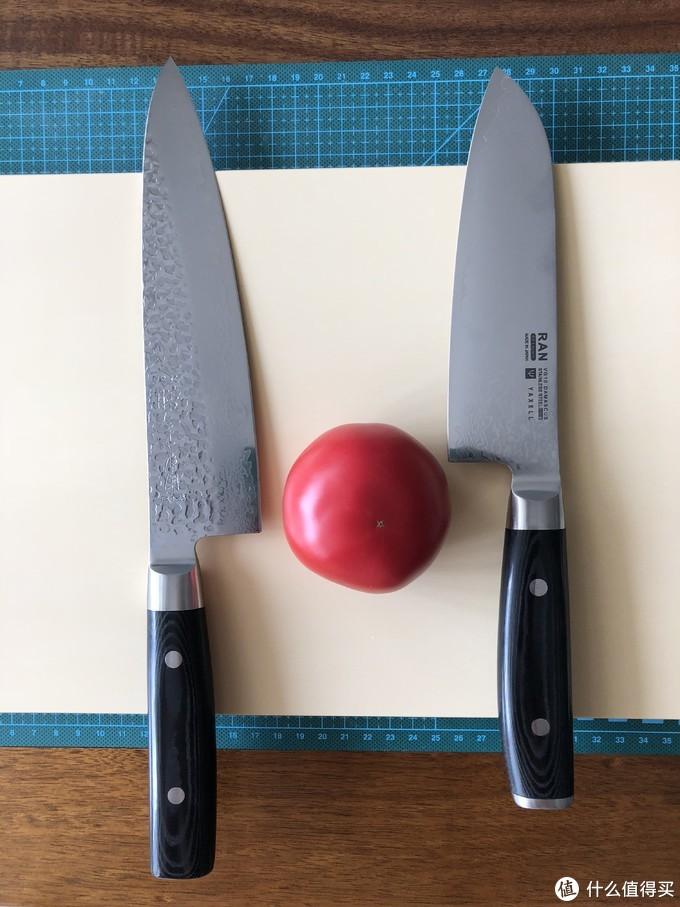 喏~上个番茄来试试出厂锋利度吧!