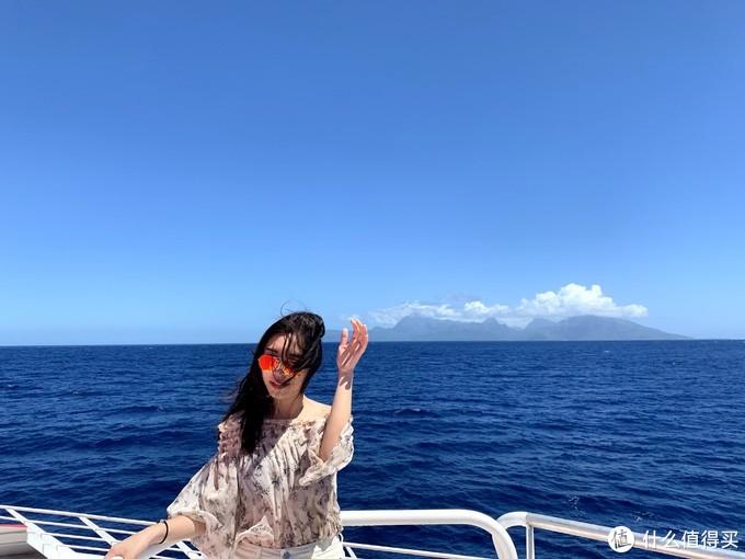 从PPT岛MOREA的海上