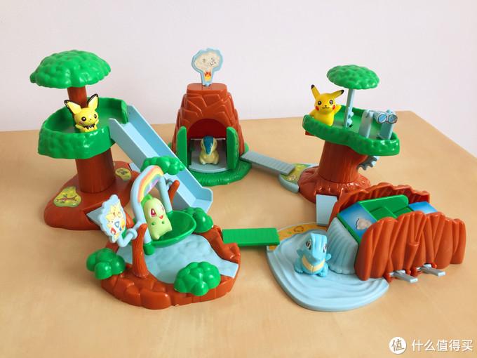 玩具测评丨BANDAI万代神奇宝贝精灵乐园盒玩(第二弹)