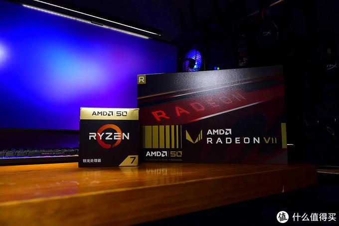 千金难买我愿意,AMD Radeon VII 五十周年纪念版开箱