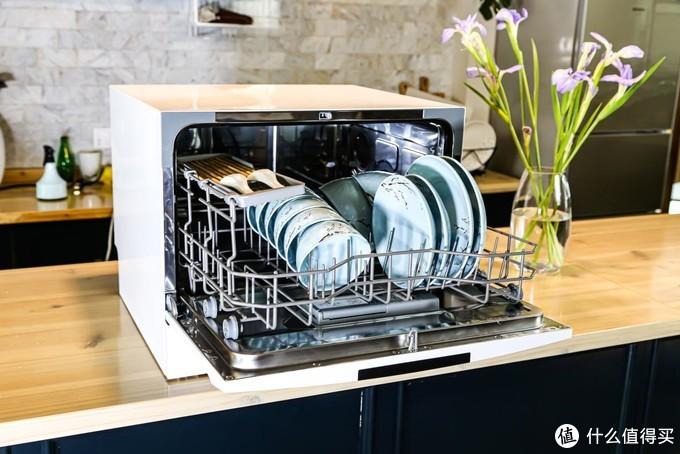 小夫妻之间的调和剂,简单点评  Midea 美的 D1S 台嵌两用洗碗机