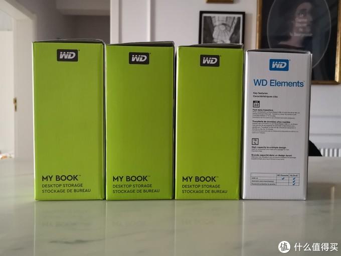 用WD 西数的8T盘填满你的胃,my book和elements 8t氦气盘开箱