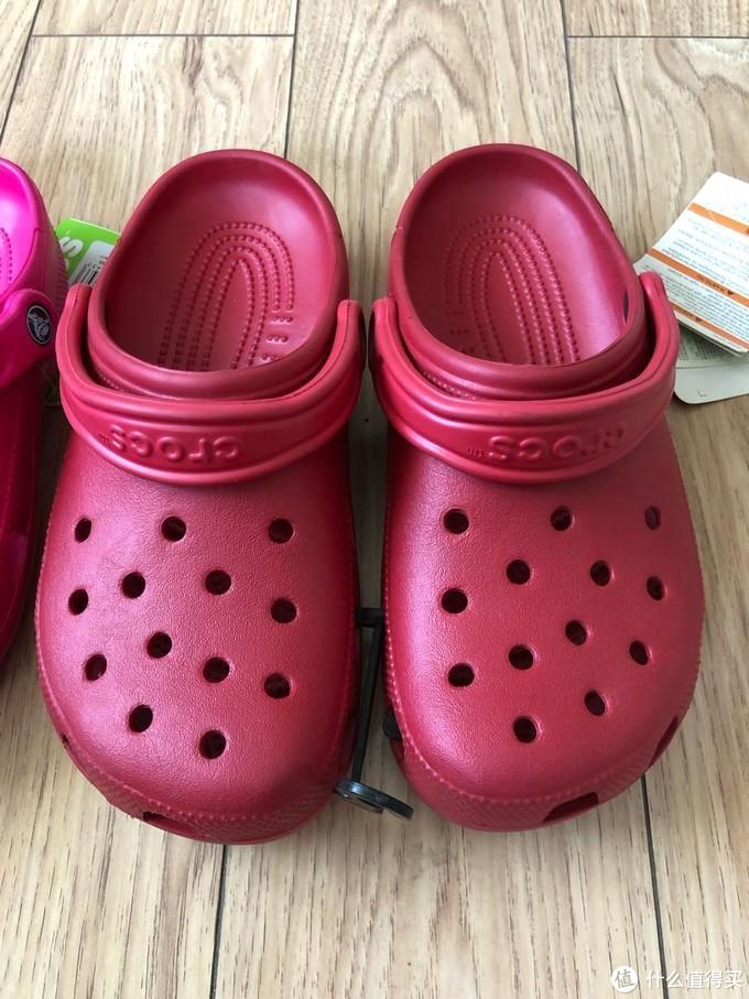 凉鞋届全能王-Crocs 经典款洞洞鞋开箱晒物