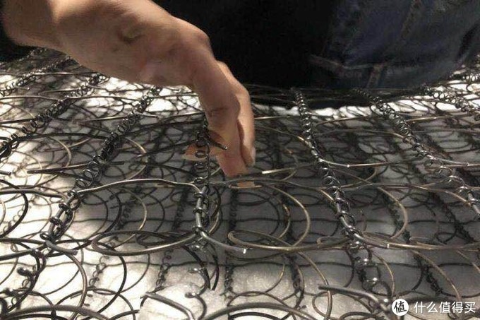 整网弹簧:床垫界的铁锁连环