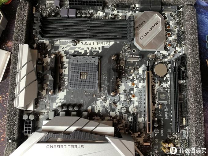 软件没有配合好的华擎B450M Steel Legend主板开箱试用和遇到的问题