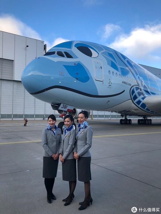 全日空航空(ANA)首架A380——ANA限定版蓝色海龟航模开箱