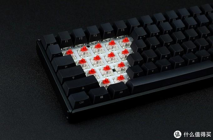 """""""霸气侧漏"""" iQunix F96碳黑版双模机械键盘体验"""