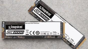 金士顿 KC 2000 M.2 SSD固态硬盘晒物总结(规格|性能|读写|功耗)