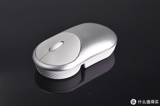 鼠标也要具有未来感—达尔优UFO飞碟无线鼠标开箱评测