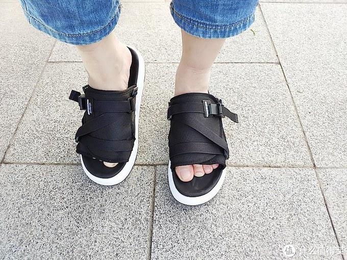 时尚又透气,一鞋有两穿,Freetie休闲凉鞋体验