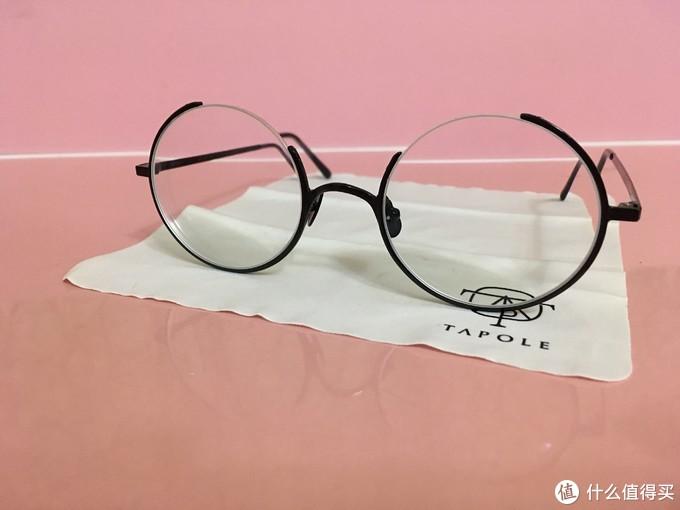 我的眼镜去哪儿了?--简评TAPOLE 四分之三圆眼镜