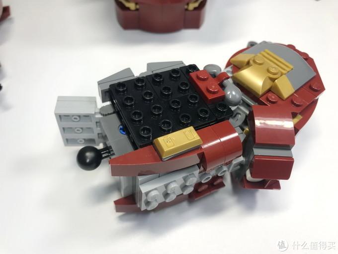 76105改起来,这才配得上UCS:MOC-18601 HulkBuster 反浩克装甲 Mod