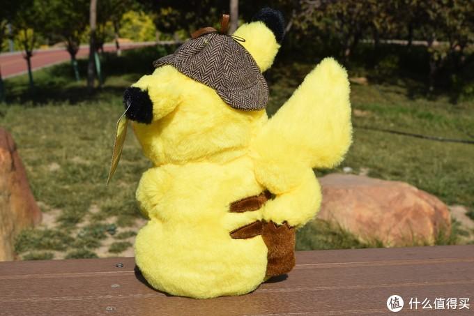 你来啦,我的大侦探皮卡丘毛绒公仔