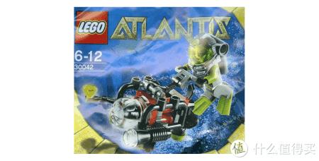 亚特兰蒂斯这个系列主要是各种海底遗迹。有一些海底动物的人仔。章鱼怪,潜水员等等。