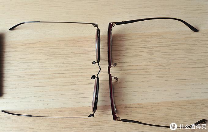 备战夏天,墨看世界:TAPOLE 四分之三 凹造型圆形眼镜选购+佩戴分享