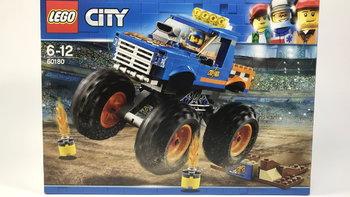 乐高 城市组系列 60180 巨轮越野车外观展示(人仔|零件|颜色|颗粒)