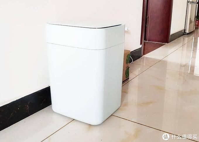 具备小清新气质的高颜值懒人神器,搭配黑科技的拓牛智能垃圾桶