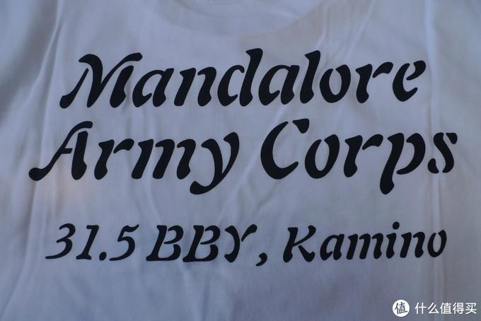 背后的字。曼达洛军团,出生日期:31.5bby,出生地:卡米诺