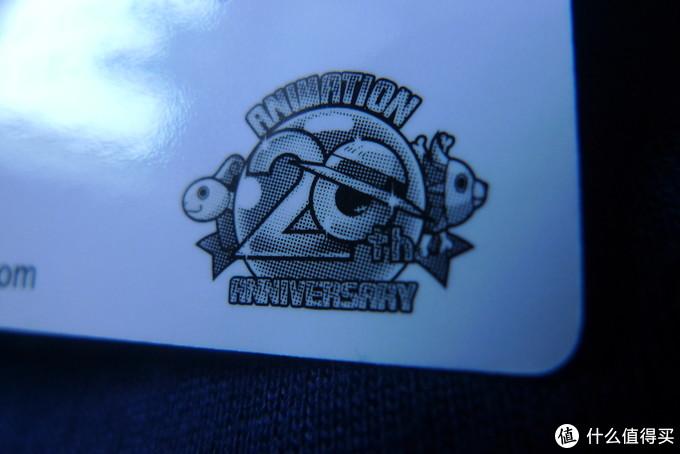 动画20年的标志。