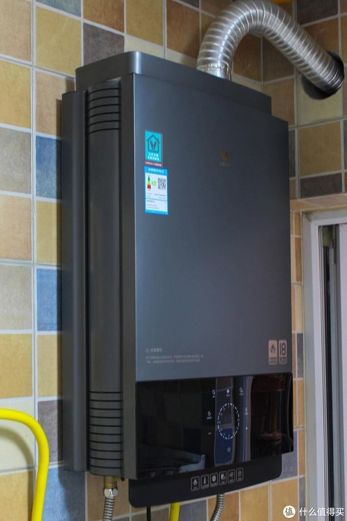 家用燃气热水器新选择,即开即热,云米热水器Zero使用评测