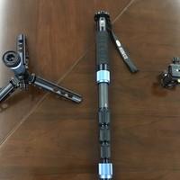 思锐P224SR独脚架外观展示(支撑架|脚管|手带)