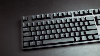 雷柏V708多模游戏机械键盘细节展示(键帽 指示灯 脚垫 脚撑)