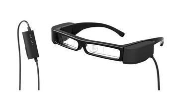 爱普生Moverio BT30-C智能眼镜晒物总结(尺寸 镜片 便携 续航 佩戴)