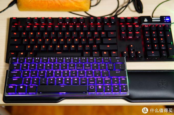 60%尺寸与矮轴的尝鲜,RGB更是盛宴: 酷冷至尊 SK621 Cherry MX矮轴RGB机械键盘众测
