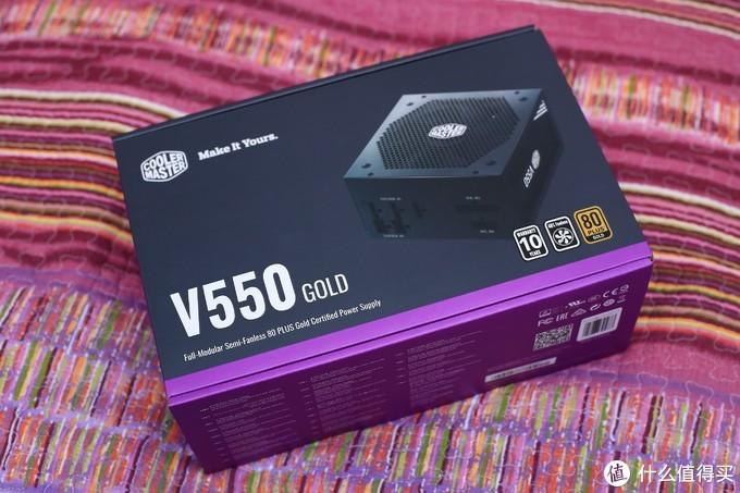 酷冷至尊 V550Gold全模组金牌电源装机