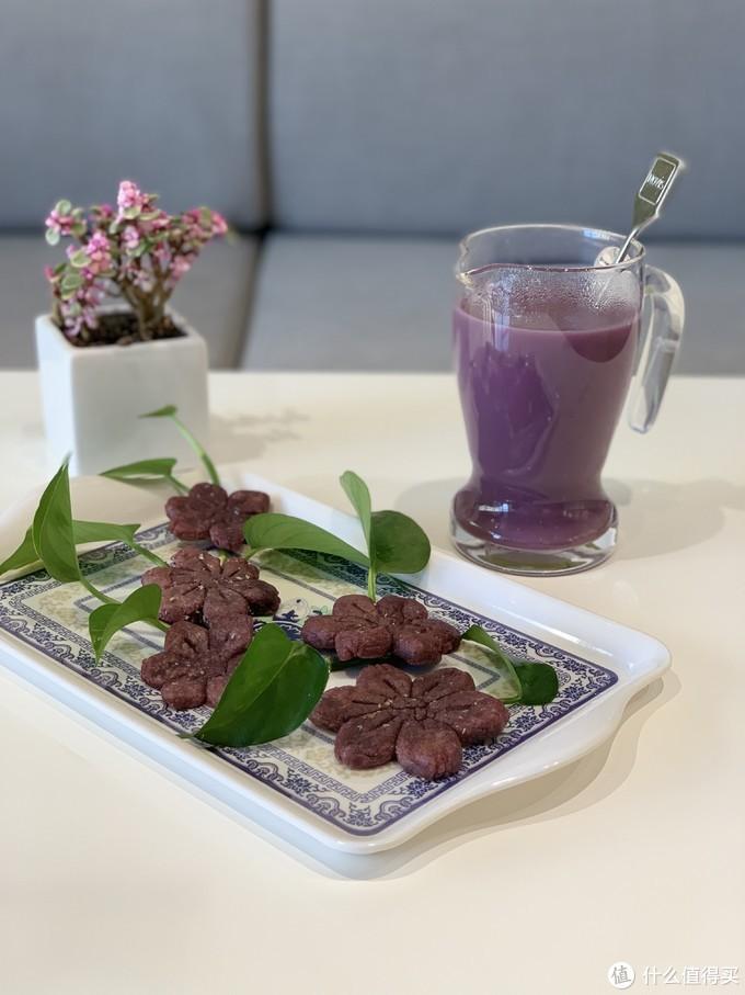 奶香紫薯饼,美到炸的紫色系高颜值美味,一口就沦陷