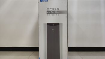 352-X60空气净化器外观展示(机身 材质 屏幕 指示灯 显示屏)