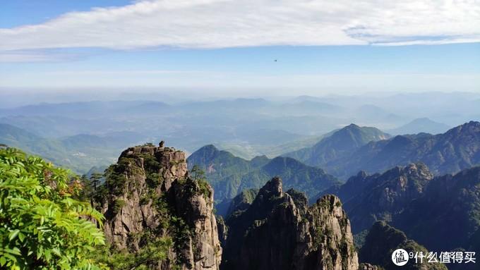 山上石猴,假装有云海