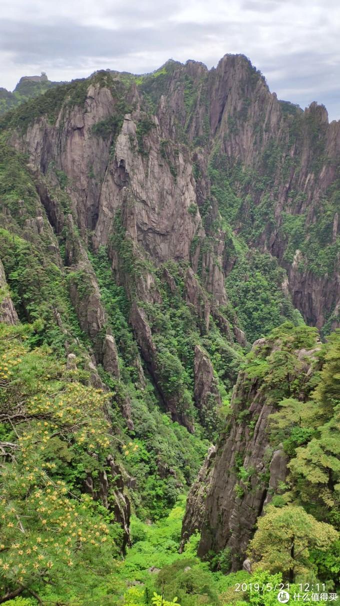 排云楼附近看西海大峡谷