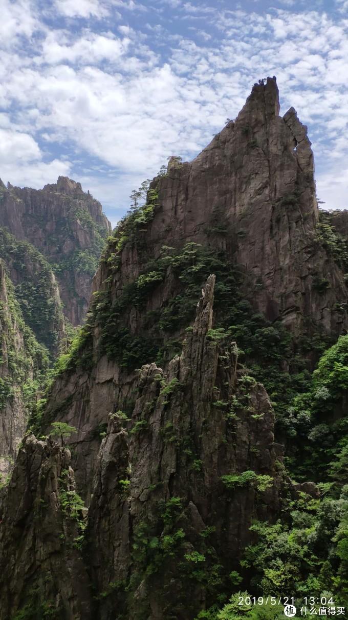峡谷走了一半左右一景