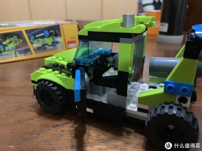 LEGO 乐高 31074火箭拉力赛车晒单