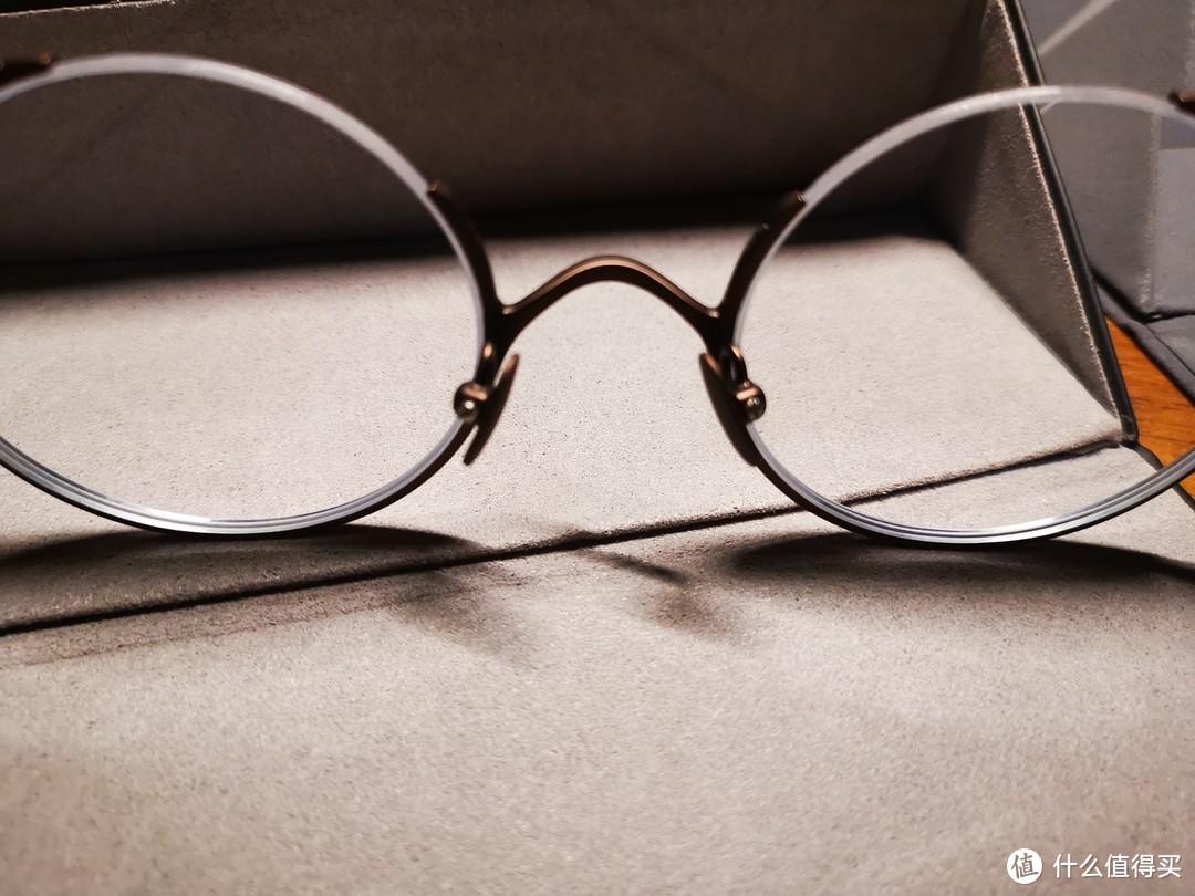 有点小轻:TAPOLE 四分之三 凹造型复古眼镜众测报告