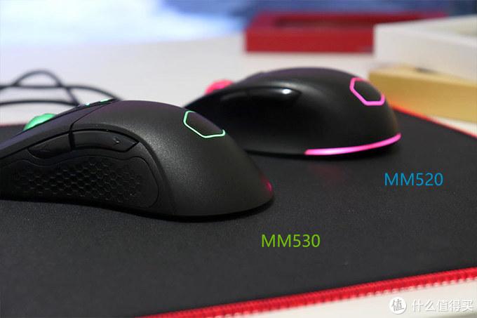 """""""大汗手""""咋选电竞鼠标?酷冷至尊MM530与MM520同台点评"""