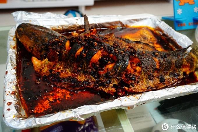 不输烤鱼店的美味老干妈风味烤鱼(家庭电烤箱版本)