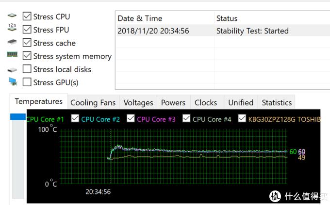 surface pro6 CPU温度