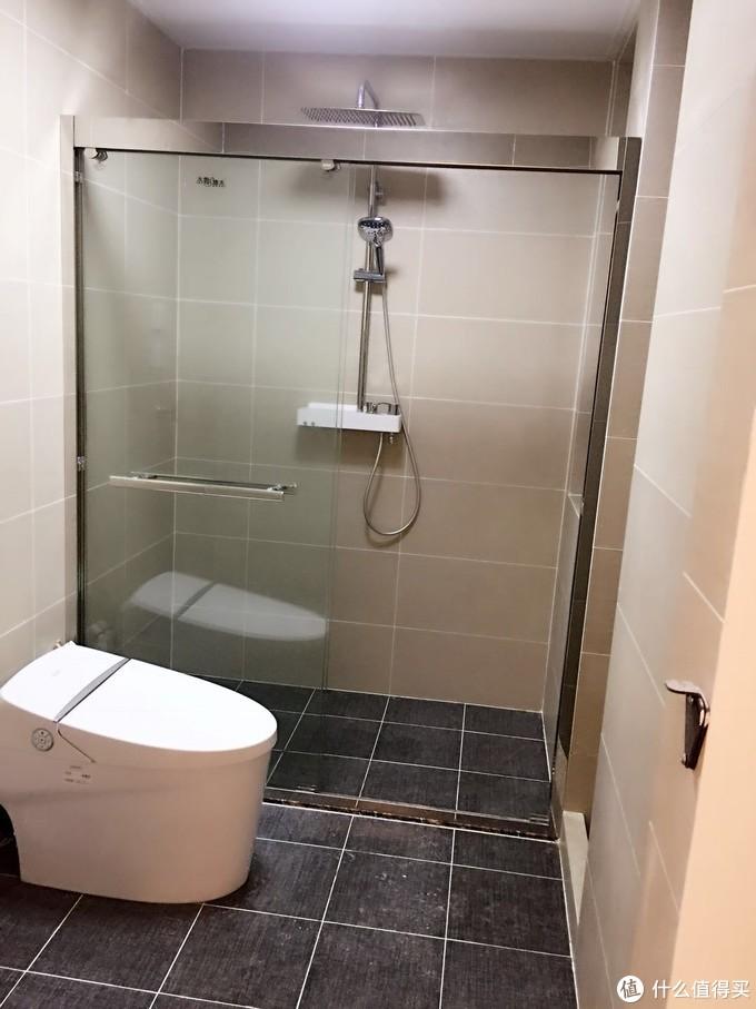 少了它,再贵的卫生间我也只能打60分——恒洁 Qe5一键旋钮智能马桶