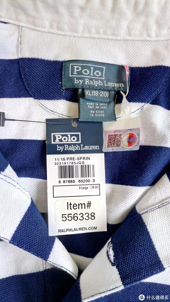 """白马非马,买标送衣服的""""美国梦""""--童款 Polo RL初体验"""