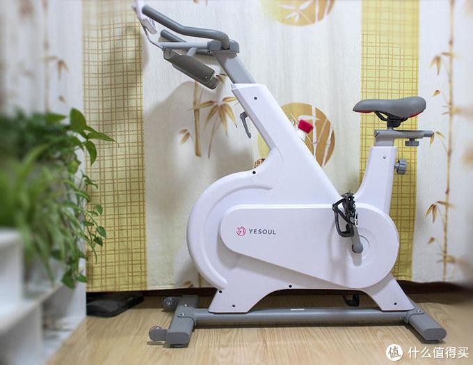 室内静音骑行+在线同步教练!YESOUL野小兽智能动感单车M1体验