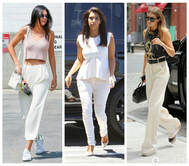 夏天拯救衣柜,你只需要一条白裤子!