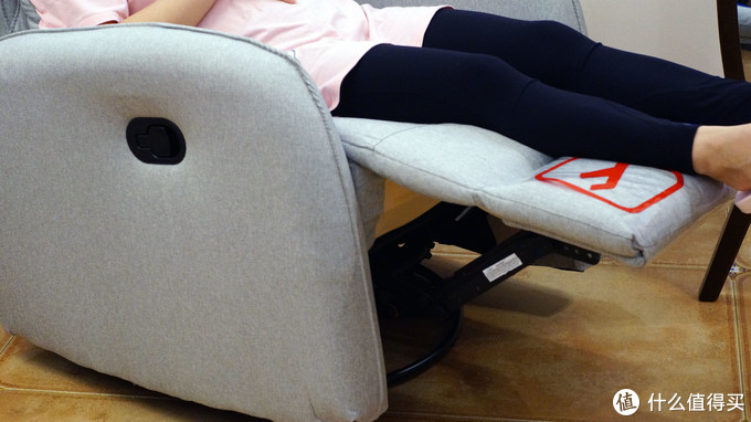 小短腿的福音窝窝椅--芝华士布艺沙发窝椅众测